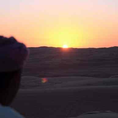 Sunset - Washiba Sands, Oman