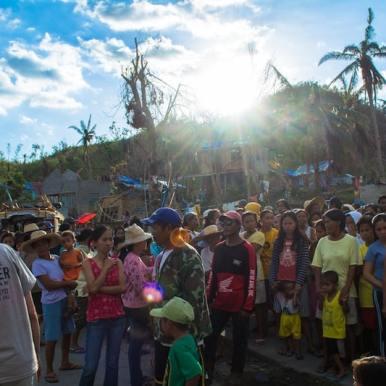 Disaster Relief Volunteer in the Philippines