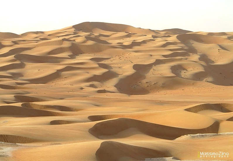 The Rub Al Khali Desert in Abu Dhabi