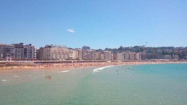The gorgeous urban beach of San Sebastian - Basque Country