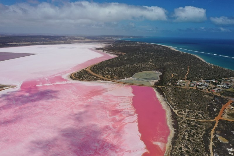 Port Gregory and the pink lake - Western Australia Family