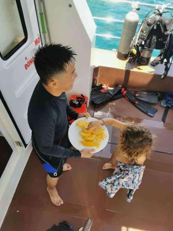 Tiger Fish divers boat