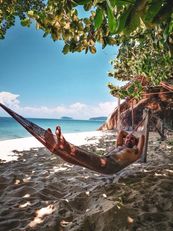 Cham Islands with Children hammock