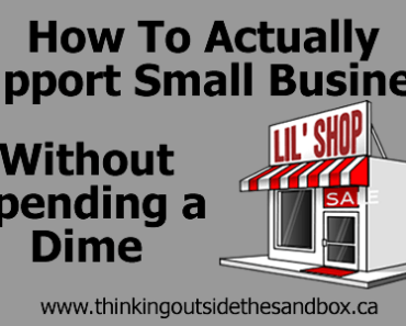 How to actually support small business