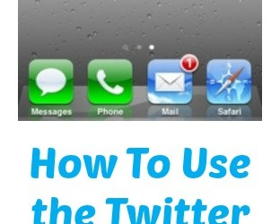 How To Use the Twitter App for iPhone