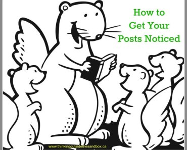 how to get your blog posts noticed