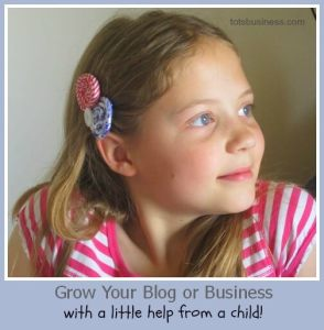 Children are an asset to your blog.