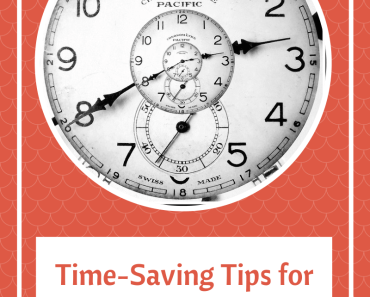Time-Saving Tips for the Busy Mom