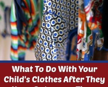 What To Do With Your Child's Clothes After They Have Outgrown Them