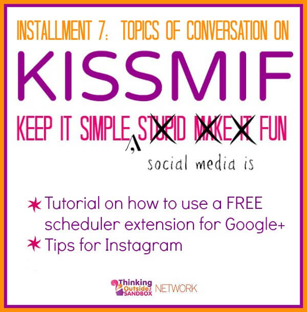 Tutorial on how to use a Free scheduler extension for Google+ + Tips for Instagram
