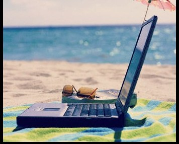 How to Blog When You're on Vacation