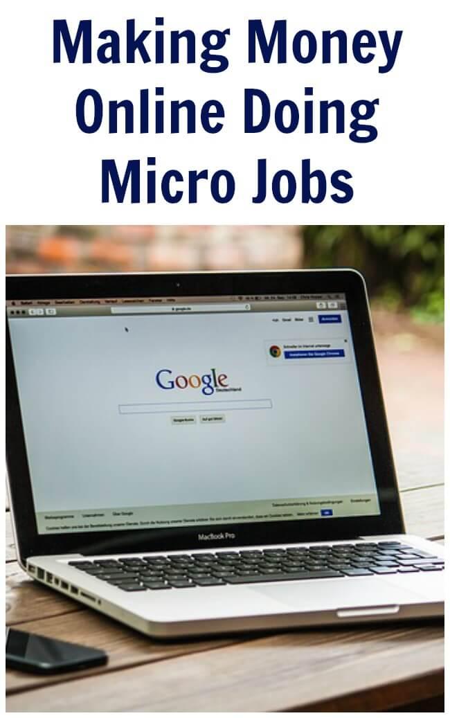 Making Money Online Doing Micro Jobs