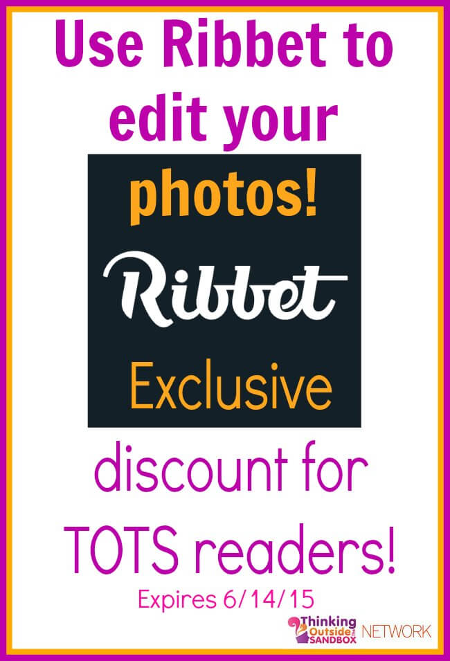 Find out how to use Ribbet to edit your images + get an exclusive discount for Ribbet!