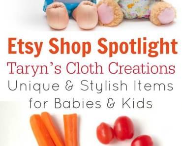 Etsy Spotlight – Taryn's Cloth Creations