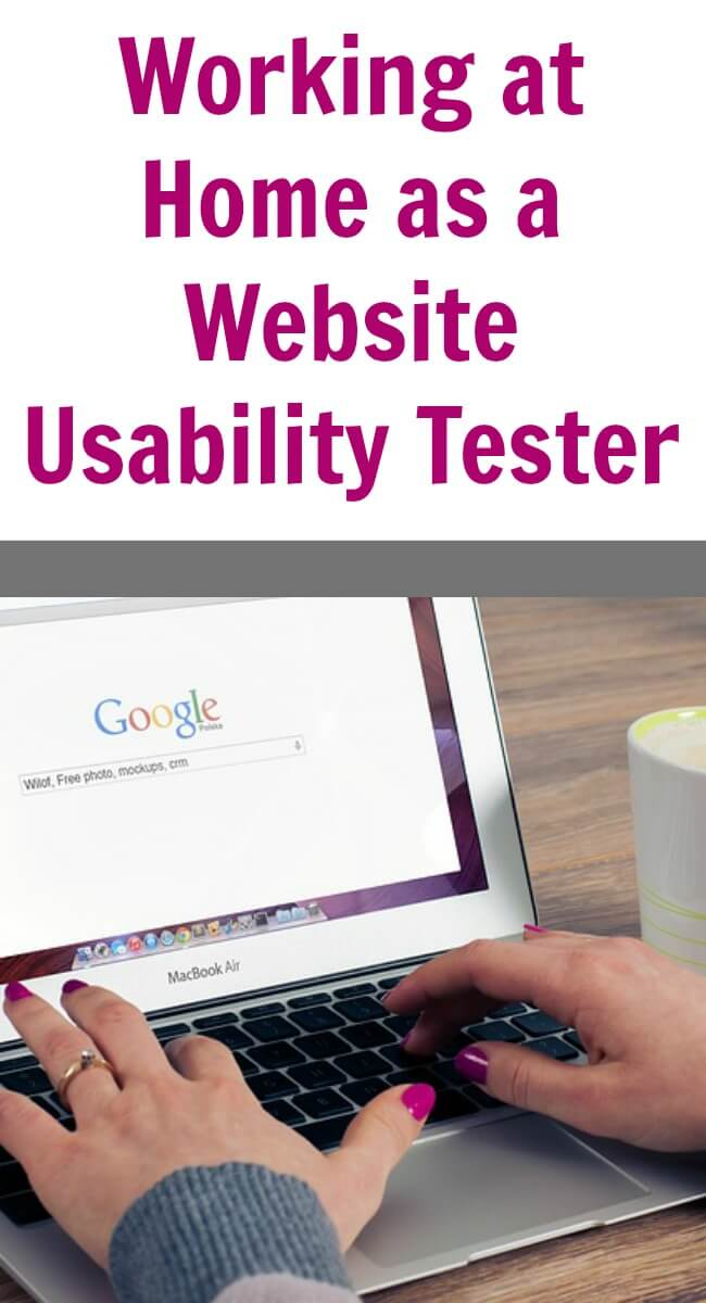 Working at Home as a Website Usability Tester