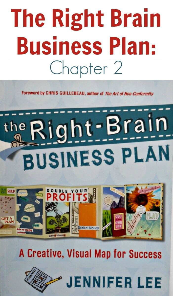 The Right Brain Business Plan - Chapter 2