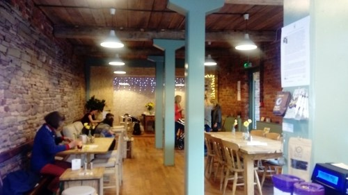 The Button Warehouse Macclesfield interior shot