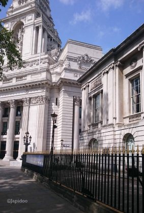 The Port of London Authority Building, the architecture on this building is beautiful.