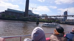The Millennium Bridge, this is the bridge which got twisted and contorted in Harry Potter.