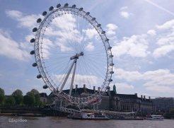 London Eye Silhouette.