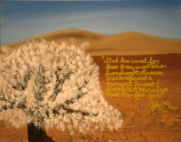 """""""The Drought"""" Devonna Flory, mixed media"""