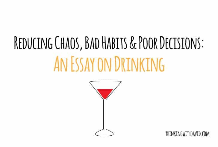 Bad habits essay in english
