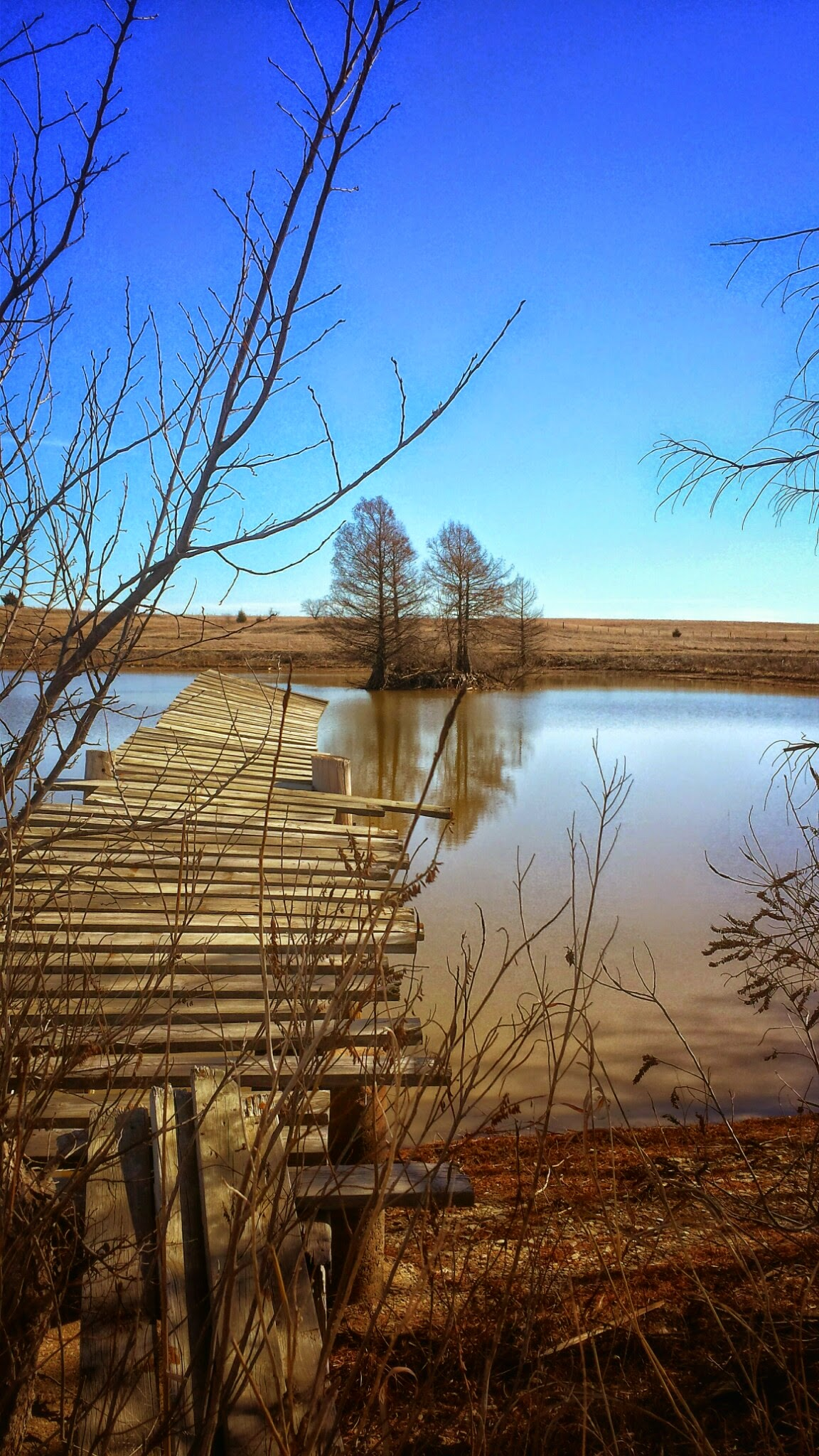 old  dock at turtle rock