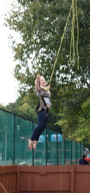 Grace on the bungy