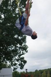 Jason doing a flip
