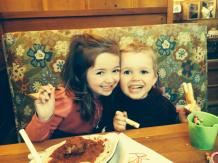 Clara and cousin Otto