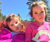 Clara and Elizabeth June 2016