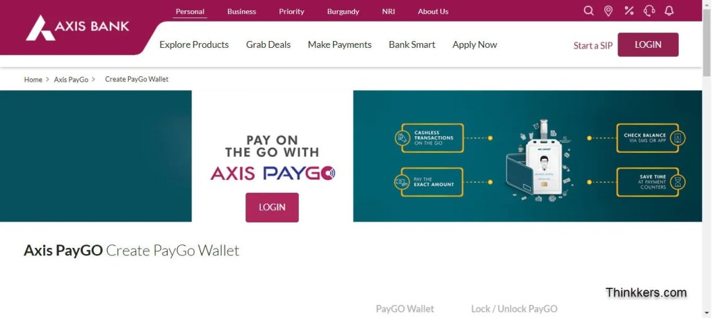 Axis Bank Paygo Wallet Vcc