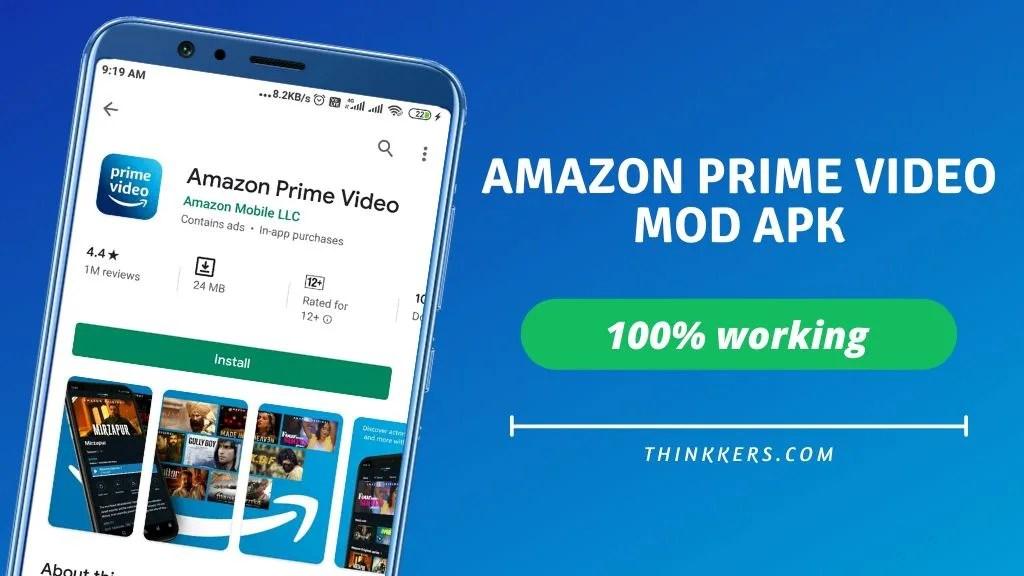 amazon prime video mod apk