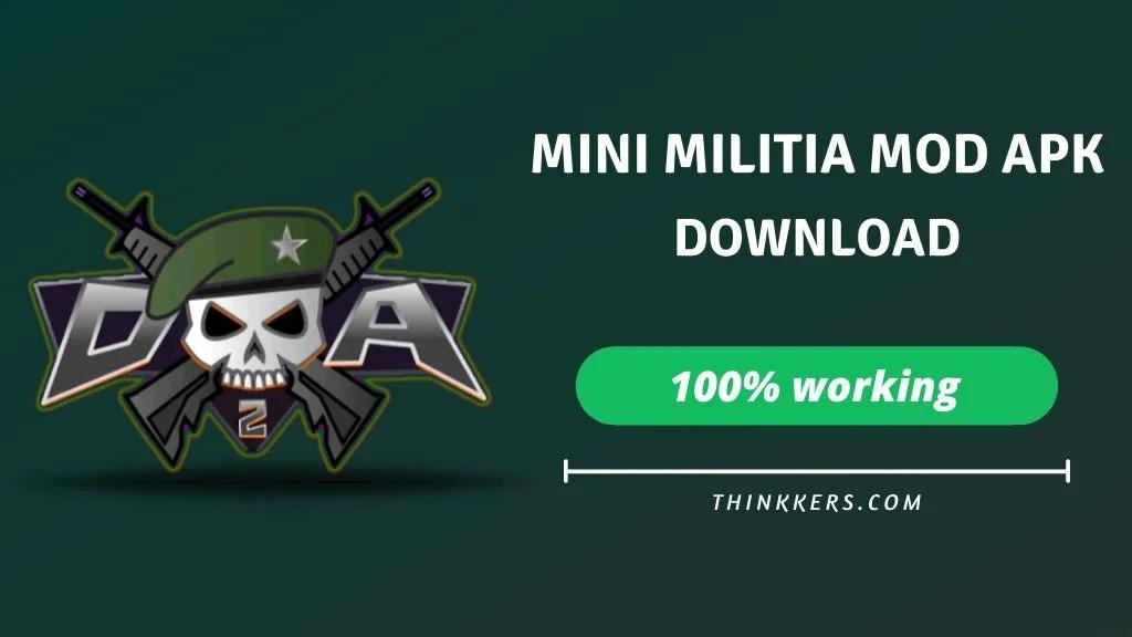 download mini milita mod apk