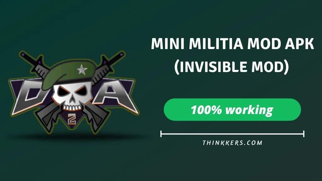 Mini Militia ghost mod