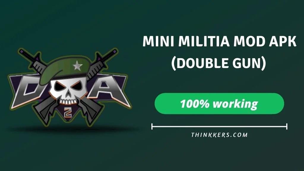 mini militia double gun mod apk