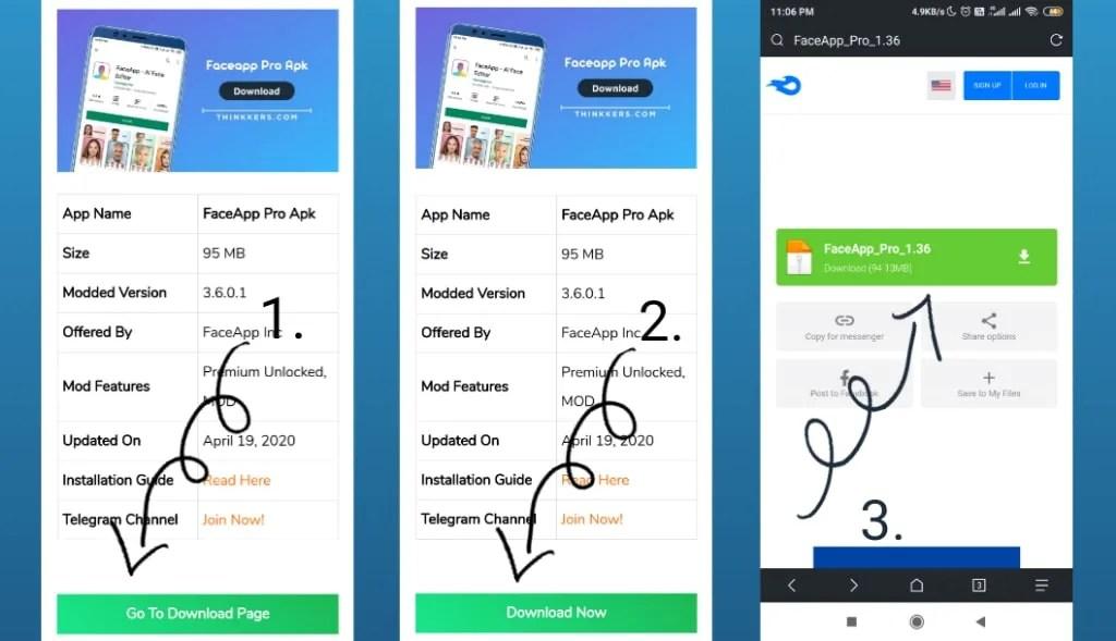FaceApp Pro Mod Apk Download