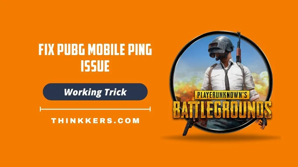 PUBG Mobile ping issue fix