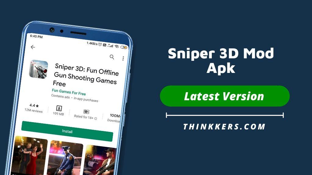 Sniper 3D Mod Apk - Copy
