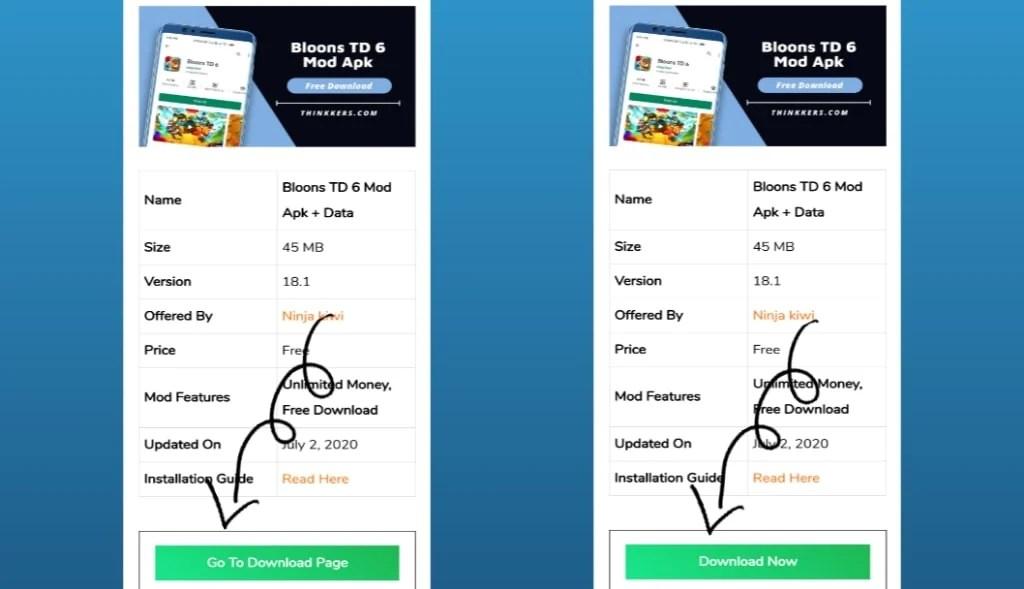 Bloons TD 6 mod apk download