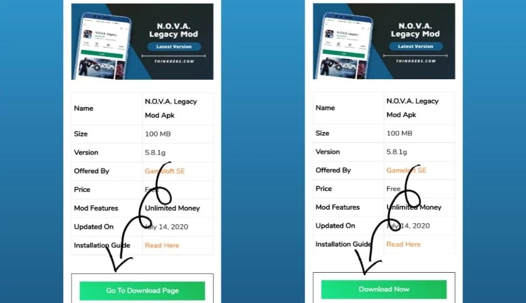 N.O.V.A. Legacy Mod Apk Download