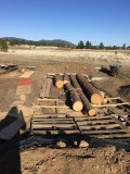 Pallets and logs
