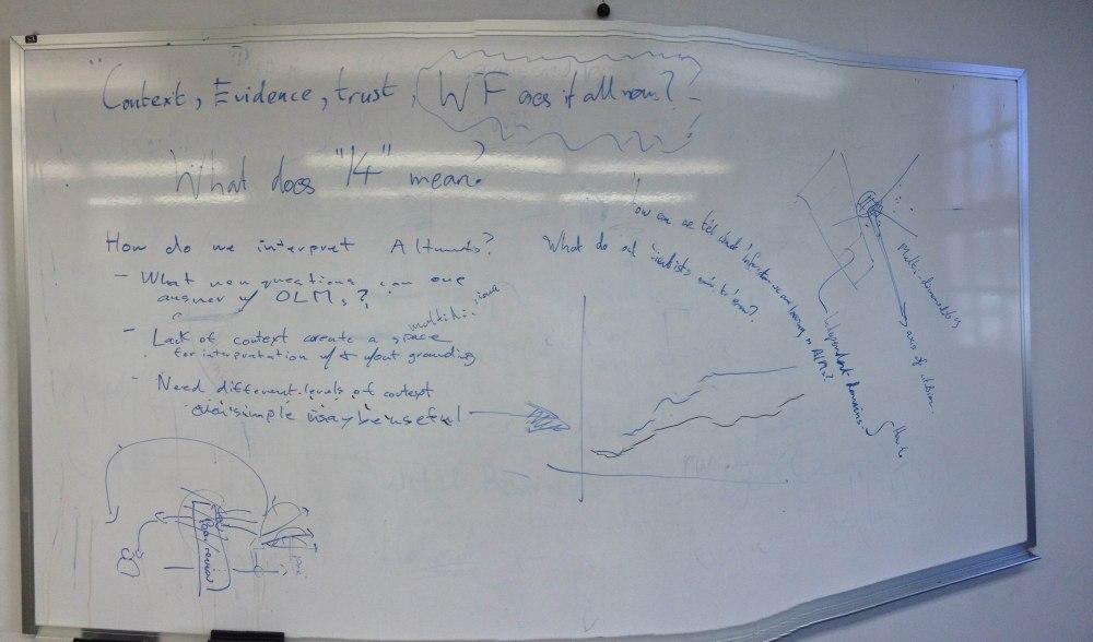 Trip Report:  PLOS Article Level Metrics Workshop and Hackathon (2/2)