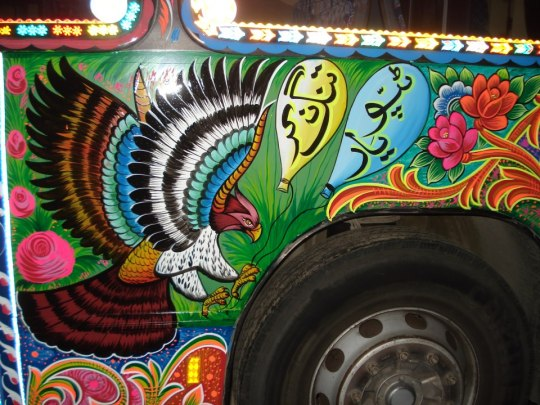 A Peep Into Truck Art- A Chat With 'truck Artist' Haider