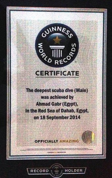 Ahmed Gaber Official Guinness World Record