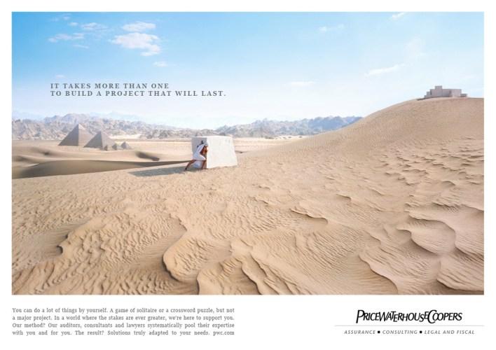 PriceWaterHouseCoopers: Desert