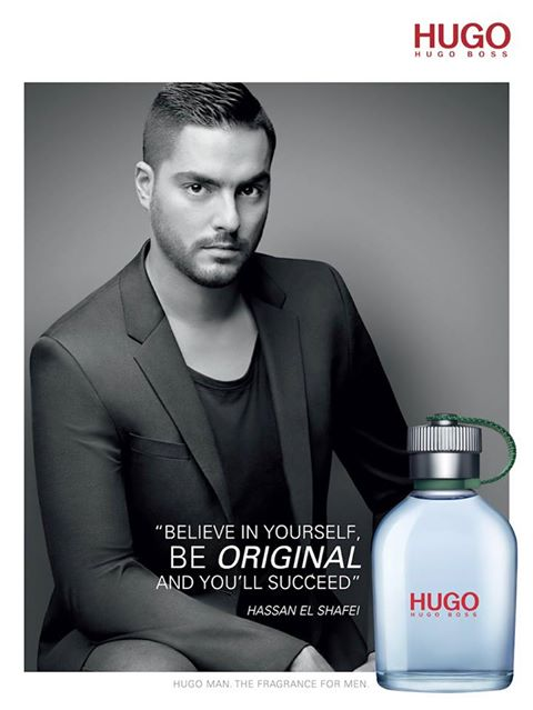 Hugo Boss Middle Eastern fragrance campaign.