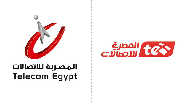 Telecom-Egypt-old-new-logo