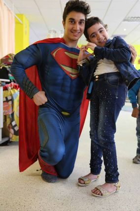Superheroes in 57357 Children's Cancer Hospital 1