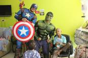 Superheroes in 57357 Children's Cancer Hospital 11